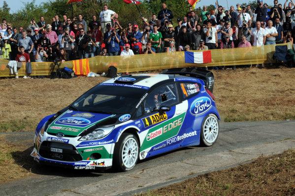 Round 09-Rallye Deutschland 23-26/8-2012.Petter Solberg, Ford WRC, Action.Worldwide Copyright: McKlein/LAT
