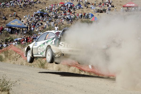 2006 FIA World Rally Champs. Round Three; Rally Mexico.; 2nd - 5th March 2006.Matthew Wilson. Ford, Action. World Copyright: LAT/McKlein