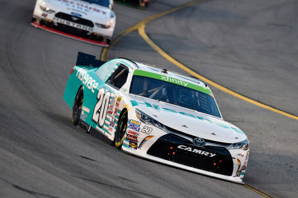 24 April, 2015, Richmond, Virginia USA Denny Hamlin, Hisense Toyota Camry ? 2015, Nigel Kinrade LAT Photo USA