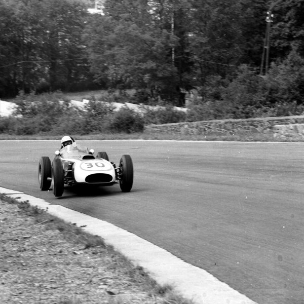1960 Belgian Grand Prix.Spa-Francorchamps, Belgium.17-19 June 1960.Chuck Daigh (Scarab).Ref-6651.World Copyright - LAT Photographic