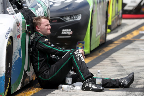 Justin Haley, Kaulig Racing Chevrolet LeafFilter Gutter Protection, Copyright: Chris Graythen/Getty Images.