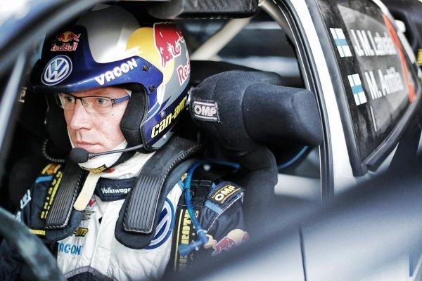 Jari-Matti Latvala (FIN)  Volkswagen Polo R WRC at FIA World Rally Championship, Rd12, RAAC Rally de Espana, Preparations and Shakedown, Costa Daurada, Catalunya, Spain, 22 October 2015.