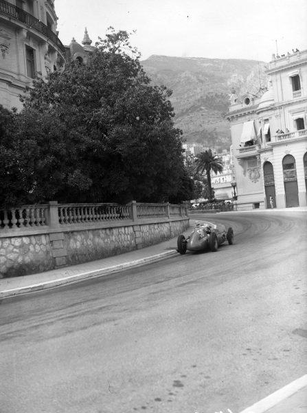 """B Bira"", Maserati 4CLT-48."