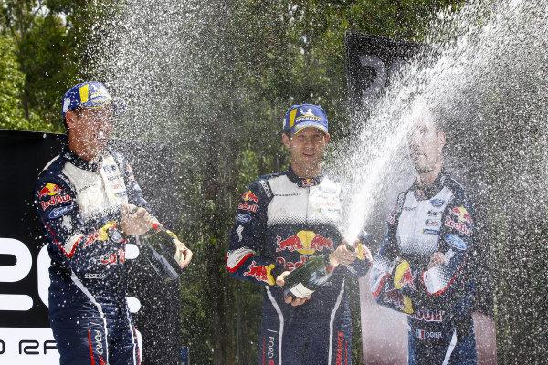 Sébastien Ogier, Julien Ingrassia, M-Sport Ford, Ford Fiesta WRC 2018, 2018 World Rally Champions