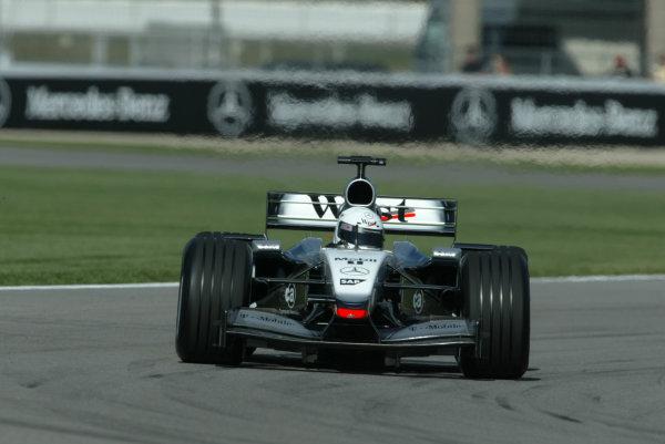 2002 USA Grand Prix - PracticeIndianapolis, USA, 27th September 2002Sarah Fisher.World Copyright: Steve Etherington/LATref: Digital Image Only