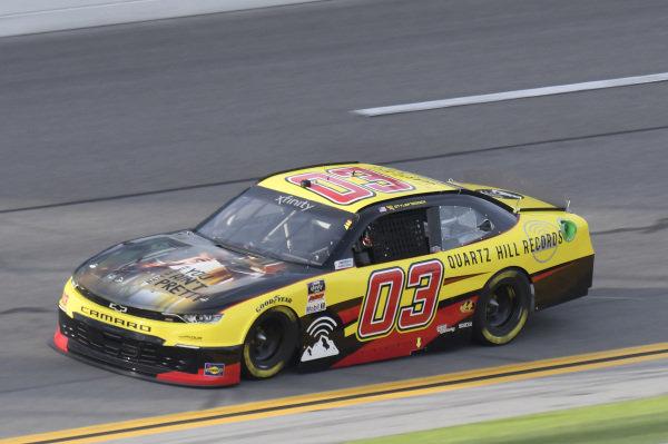 #03: Tyler Reddick, Our Motorsports, Chevrolet Camaro Quartz Hill Records