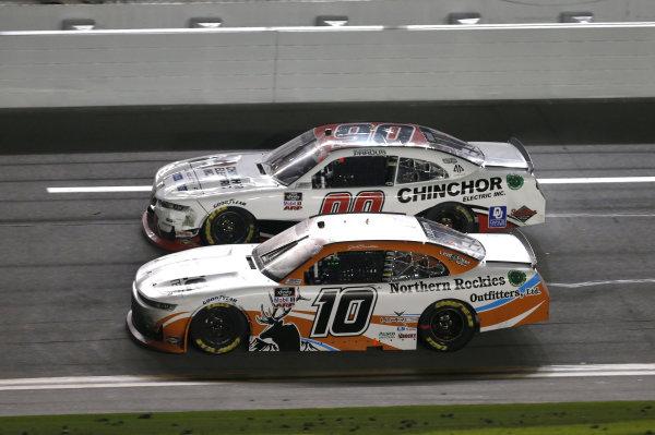 #10: Jeb Burton, Kaulig Racing, Chevrolet Camaro Nutrien Ag Solutions #90: Preston Pardus, DGM Racing, Chevrolet Camaro MAXIM/AP Sports Regimen