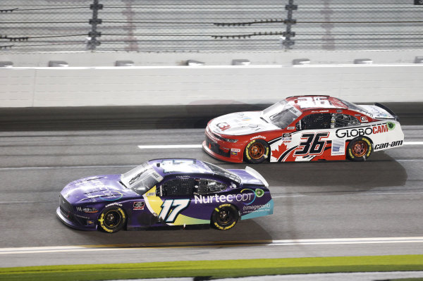 #17: Cody Ware, SS Green Light Racing, Chevrolet Camaro #36: Alex Labbe, DGM Racing, Chevrolet Camaro Globocam/Prolon Controls