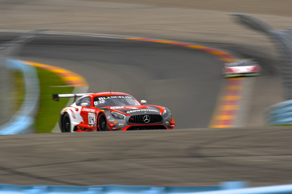 #04 Mercedes-AMG GT3 of George Kurtz and Colin Braun with DXDT Racing