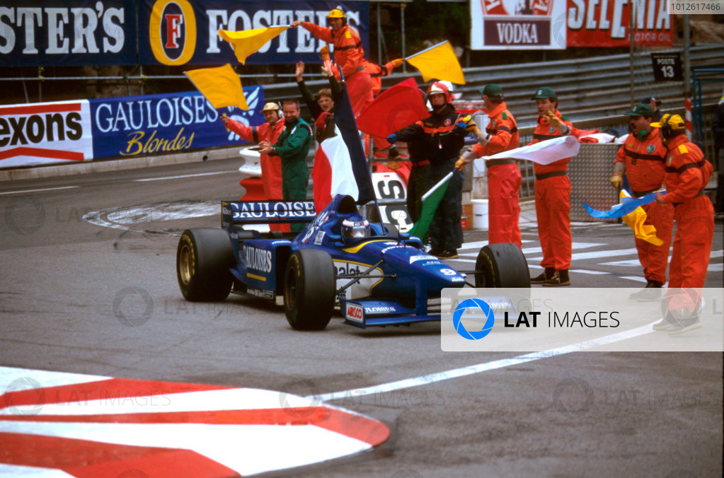 1996 Monaco Grand Prix.