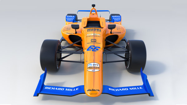 2019 McLaren Indy500 car Image owned by McLaren Racing. Editorial use only. For commercial use enquiries contact brand@mclaren.com