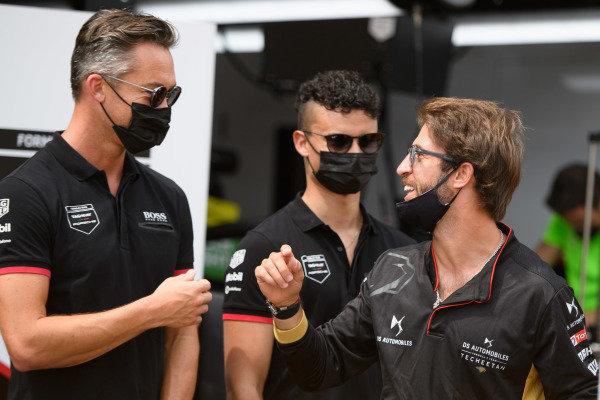 Andre Lotterer (DEU), Tag Heuer Porsche, Pascal Wehrlein (DEU), Tag Heuer Porsche, and Antonio Felix da Costa (PRT), DS Techeetah