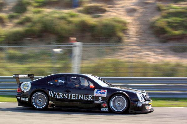 2001 DTM ChampionshipZandvoort, Holland. 22nd - 23rd September 2001.Uwe Alzen (Warsteiner AMG-Mercedes), action.World Copyright: Peter Spinney/LAT Photographicref: 8 5mb Digital Image Only