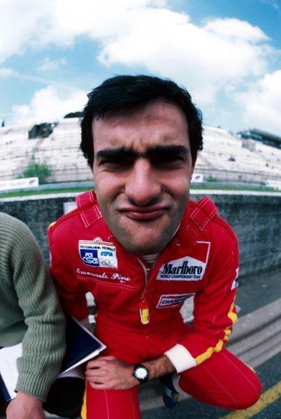 Emanuele Pirro (ITA) March.1985 European Formula 3000 Championship.