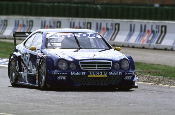 2001 DTM TestingHockenheim, Germany. 5th April 2001.Bernd Maylander,Eschmann Mercedes-Benz CLK - action.World Copyright: Peter Spinney/LAT Photographic.