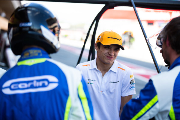 Lando Norris, McLaren with Carlin