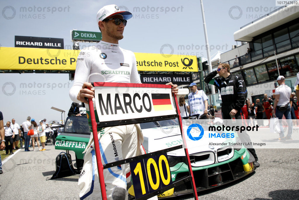 100th races for Marco Wittmann, BMW Team RMG.