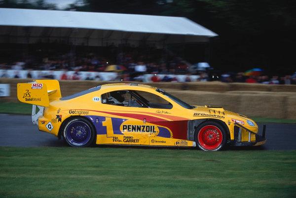 2002 Goodwood Festival of SpeedGoodwood, England. 12th - 14th July 2002.Rod Millen, Toyota Celica Pikes Peak.World Copyright: Jeff Bloxham/LAT Photographicref: 35mm Image A13