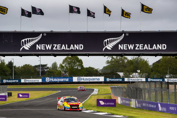 2017 Supercars Championship Round 14.  Auckland SuperSprint, Pukekohe Park Raceway, New Zealand. Friday 3rd November to Sunday 5th November 2017. Chaz Mostert, Rod Nash Racing Ford.  World Copyright: Daniel Kalisz/LAT Images  Ref: Digital Image 031117_VASCR13_DKIMG_0260.jpg