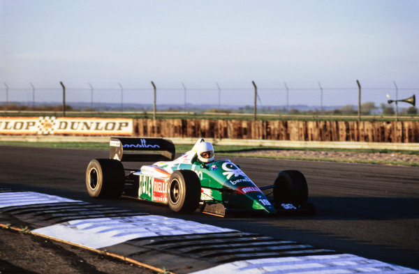 1986 Formula 1 Testing.