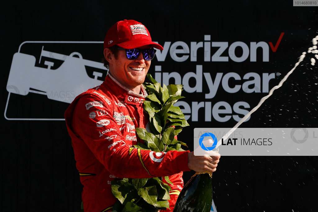 2-4 September, 2016, Watkins Glen, New York,  USA Scott Dixon, champagne ?2016, Michael L. Levitt LAT Photo USA