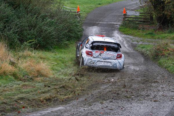 Round 13 - Wales Rally GB. 10th-13th November 2011. Kimi Raikkonen, Citroen, ActionWorldwide Copyright: McKlein/LAT