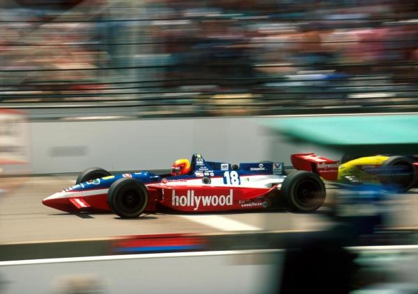 Mauricio Gugelmin (BRA) Reynard Ford Cosworth finished sixth at the Brickyard.