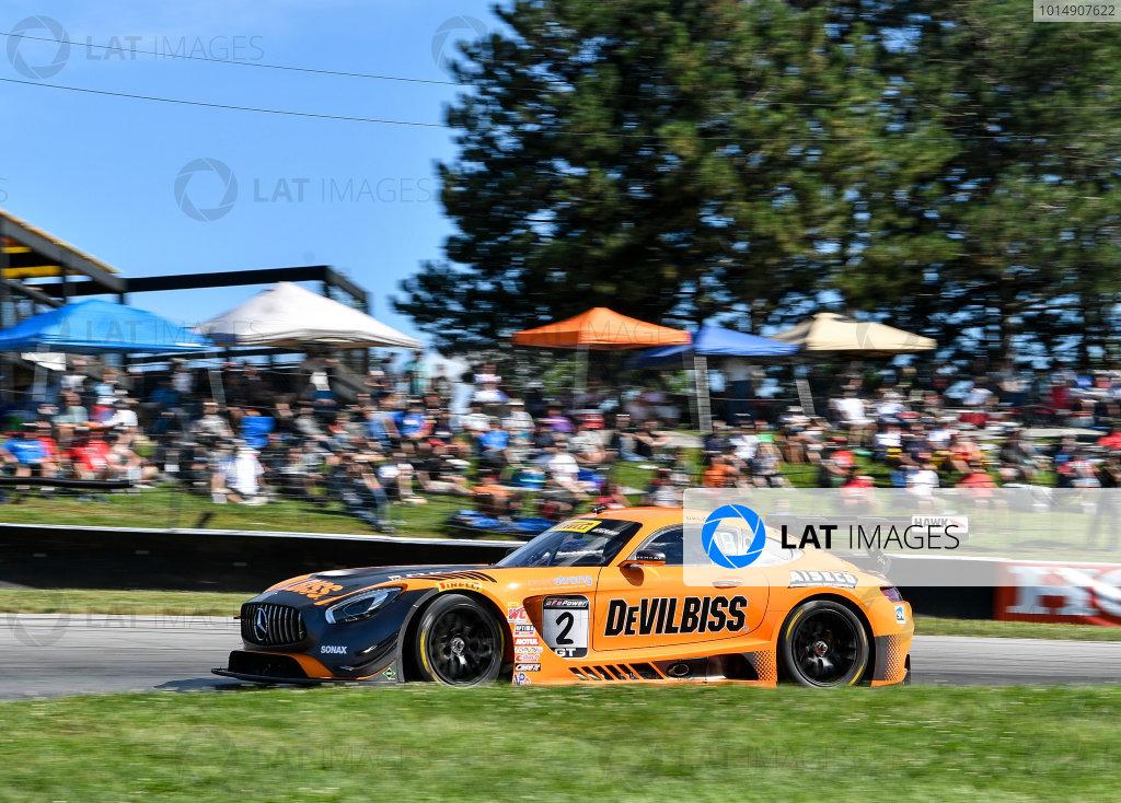 Pirelli World Challenge Grand Prix of Mid-Ohio Mid-Ohio Sports Car Course, Lexington, OH USA Saturday 29 July 2017 Ryan Dalziel World Copyright: Richard Dole/LAT Images ref: Digital Image RD_MIDO_17_155
