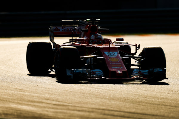 Hungaroring, Budapest, Hungary.  Tuesday 01 August 2017. Charles Leclerc, Ferrari SF70H. World Copyright: Joe Portlock/LAT Images  ref: Digital Image _R3I2592