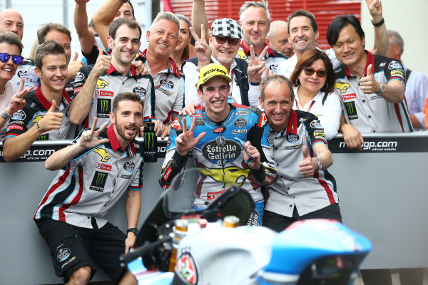 2017 Moto2 Championship - Round 6 Mugello, Italy Sunday 4 June 2017 third place Alex Marquez, Marc VDS race World Copyright: Gold & Goose Photography/LAT Images ref: Digital Image 674644