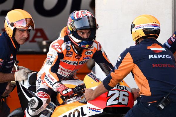 2017 MotoGP Championship - Round 14 Aragon, Spain. Saturday 23 September 2017 Dani Pedrosa, Repsol Honda Team World Copyright: Gold and Goose / LAT Images ref: Digital Image 13641