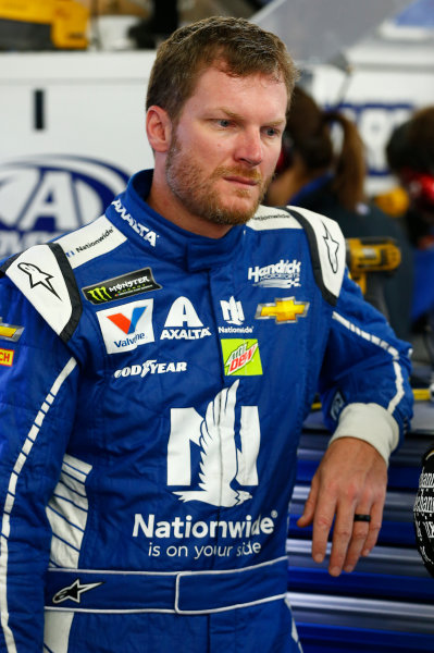 Monster Energy NASCAR Cup Series ISM Connect 300 New Hampshire Motor Speedway Loudon, NH USA Friday 22 September 2017 Dale Earnhardt Jr, Hendrick Motorsports, Nationwide Chevrolet SS World Copyright: Brett Moist LAT Images
