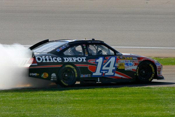 9-11 March, 2012, Las Vegas, Nevada USATony Stewart celebrates his win(c)2012, LAT SouthLAT Photo USA
