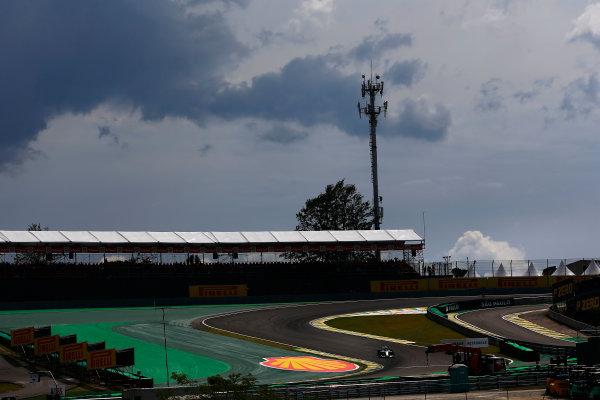 Interlagos, Sao Paulo, Brazil. Friday 7 November 2014. Lewis Hamilton, Mercedes F1 W05 Hybrid. World Copyright: Andrew Hone/LAT Photographic. ref: Digital Image _ONZ4879