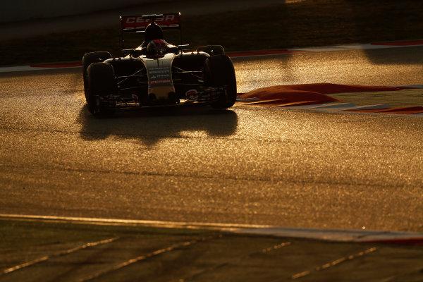 2015 F1 Pre Season Test 3 - Day 4 Circuit de Catalunya, Barcelona, Spain. Thursday  Sunday 1 March 2015. Max Verstappen, Toro Rosso STR10 Renault.  World Copyright: Sam Bloxham/LAT Photographic. ref: Digital Image _14P5496