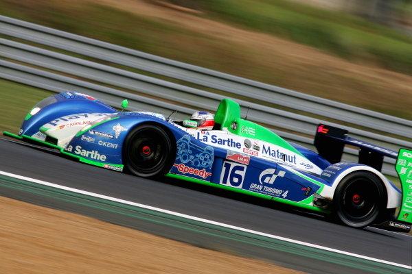 Emmanuel Collard (FRA) / Jean Christophe Boullion (FRA) / Erik Comas (FRA) / Pescarolo Sport Pescarollo Judd, was fastest qualifyer for Saturday's race.Le Mans 24 Hours, Second Qualifying, Le Mans, France, 16 June 2005.DIGITAL IMAGE