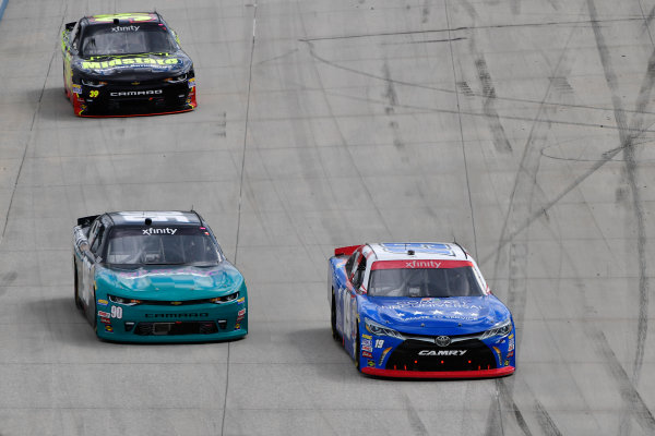 NASCAR XFINITY Series Use Your Melon Drive Sober 200 Dover International Speedway, Dover, DE USA Saturday 30 September 2017 Matt Tifft, Comcast NBC Universal Salute to Service Toyota Camry, Brandon Brown, W.G. Speeks Chevrolet Camaro, Ryan Sieg, RSS Racing Chevrolet Camaro World Copyright: Logan Whitton LAT Images