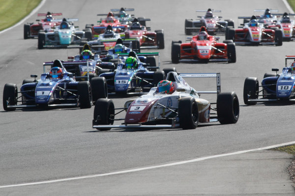 2016 MSA Formula Donington Park, 16th-17th April 2016, Sennan Fielding (GBR) JHR Developments MSA Formula   World copyright. Jakob Ebrey/LAT Photographic