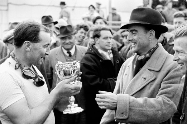 Goodwood, West Sussex, Great Britain. 6 April 1953.