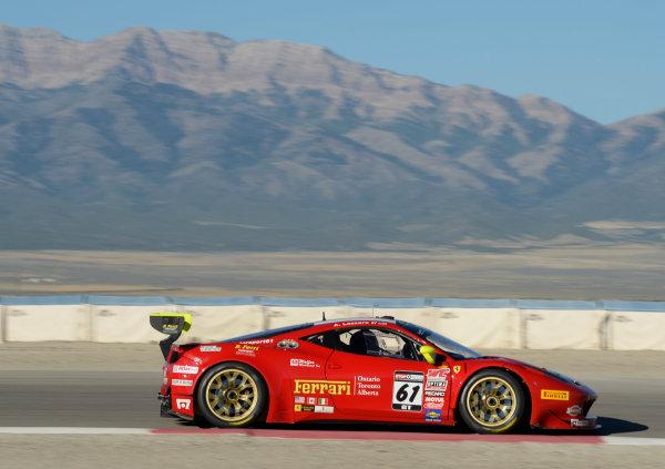 11-13 September,  2014, Tooele,  Utah,  USA #61, Ferrari 458 GTS Italia, Anthony Lazzaro ©2014, Richard Dole LAT USA