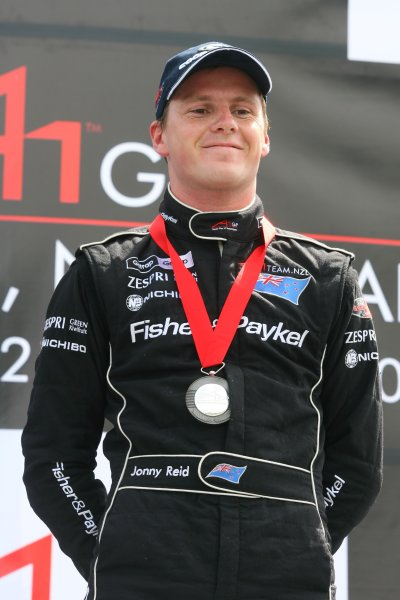 21.01 2007 Taupo, New Zealand, Jonny Reid, Driver of A1Team New Zealand finishes 3rd - A1GP World Cup of Motorsport 2006/07, Round 6, Taupo, Sunday Race 1 - Copyright A1GP - Free for editorial usage