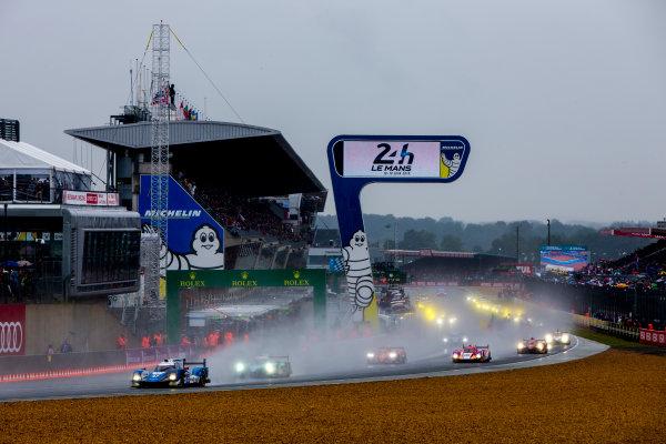 2016 Le Mans 24 Hours. Circuit de la Sarthe, Le Mans, France. Saturday 18 June 2016. KCMG / Oreca 05-Nissan - Tsugio Matsuda (JPN), Matthew Howson (GBR), Richard Bradley (GBR).  World Copyright: Zak Mauger/LAT Photographic ref: Digital Image _79P6838