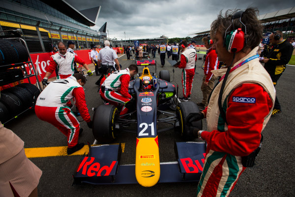 2016 GP2 Series Round 5 Silverstone, Northamptonshire, UK. Saturday 9 July 2016. Pierre Gasly (FRA, PREMA Racing)  Photo: Sam Bloxham/GP2 Series Media Service. ref: Digital Image _SBB1423