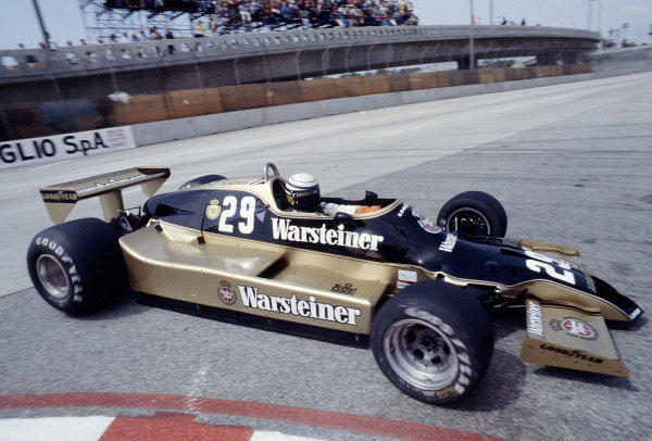 1979 United States Grand Prix West.Long Beach, California, USA.6-8 April 1979.Riccardo Patrese (Arrows A1 Ford).Ref-79 LB 17.World Copyright - LAT Photographic