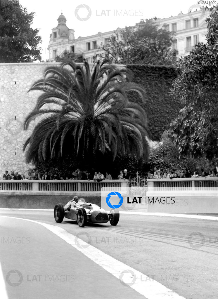 1950 Monaco Grand Prix.Monaco, Monte Carlo. 21st May 1950.Philippe Etancelin (Lago-Talbot T26C). Ref-C26730.World Copyright: LAT Photographic