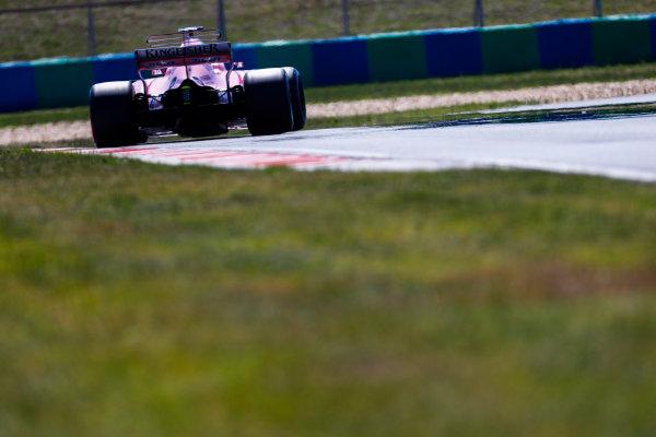 Hungaroring, Budapest, Hungary.  Tuesday 01 August 2017. Nikita Mazepin, Force India VJM10 Mercedes. World Copyright: Joe Portlock/LAT Images  ref: Digital Image _R3I0962