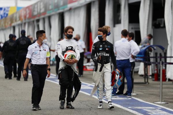 Albert Lau, Race Engineer, Mercedes Benz EQ, Antonio Felix da Costa (PRT), DS Techeetah, Jean-Eric Vergne (FRA), DS Techeetah