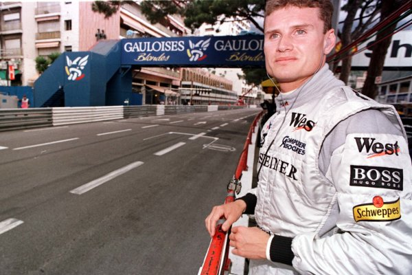 1998 Monaco Grand Prix.Monte Carlo, monaco.21-24 May 1998.David Coulthard (McLaren Mercedes-Benz).World Copyright - LAT Photographic