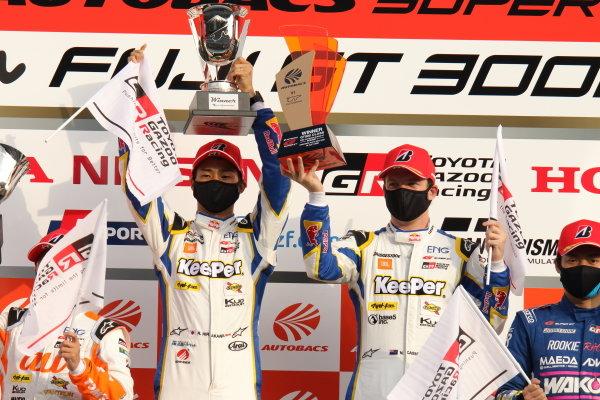 GT500 Winner Ryo Hirakawa & Nick Cassidy, KeePer TOM'S GR Toyota Supra