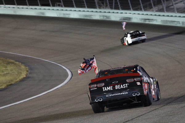 #2: Tyler Reddick, Richard Childress Racing, Chevrolet Camaro TAME the BEAST, Champion